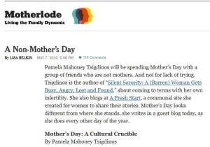 New York Times Motherlode Blog